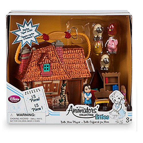 auty & The Beast Belle Animators Sammlung Micro Playset (Belle Disney Princess Puppe)