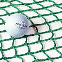Net World Sports Ersatz 3m x 3m Golf Aufschlagnetz (Grün) (2.3mm knotenloses Netz) - Super Starkes Aufschlagnetz um den Verschleiß an Ihrem Golfkäfig zu reduzieren