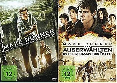 Maze Runner - Teil 1+2 * DVD Set