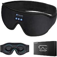 SchlafkopfhöRer Bluetooth, TOPLANET Bluetooth-Schlafmaske Timer Wireless 3d-Schlafaugenmaske, Waschbare Freisprech…