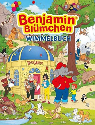Preisvergleich Produktbild Benjamin Blümchen Wimmelbuch