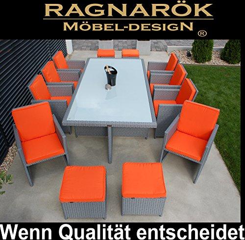 Polyrattan Essgruppe Deutsche Marke Eignene Produktion Tisch 8x