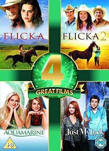 Flicka/Flicka 2/Aquamarine/Just My Luck (4 Dvd) [Edizione: Regno Unito] [Edizione: Regno Unito]
