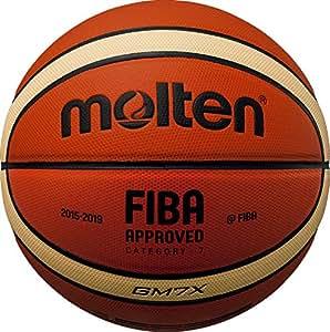 Molten BGMX Parallèle-Pebble-Ballon de Basketball-Orange-Taille 5