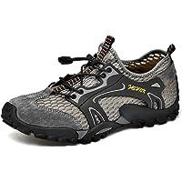 Scarpe da Escursionismo Uomo Traspiranti e Leggere Scarpe Ginnastica Passeggio in Acqua ad Asciugatura Rapida per…