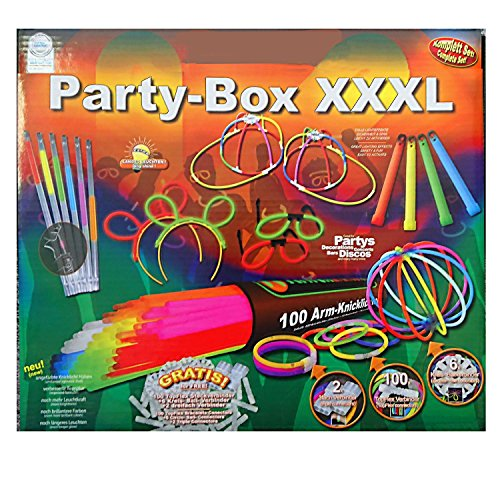 Knicklichter Set, Party Box