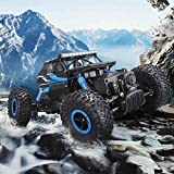 Halo Nation Rock Crawler 1:18 Scale 4Wd 2.4 Ghz 4X4 Drift Waterproof Remote Controlled Monster Truck