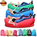 Lazy Bunny Air Sofa Outdoor Inflatable Lounger Bed Chair for Summer Travel, Hiking, Park, Picnics, Fishing, Camping Holidays, Chilling, Guest Sleeping Bag Sack - Ultralight, Quick Easy to Inflate by Lazy Bunny
