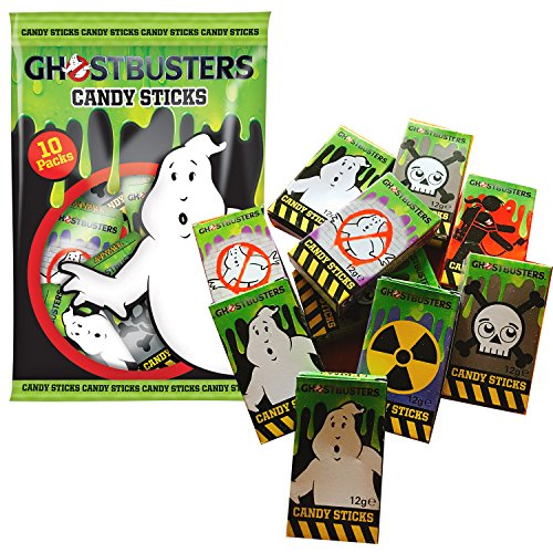 Ghostbusters Halloween Süßigkeiten 10er Pack Candy Sticks