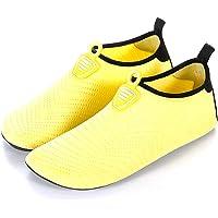 Unitysow Chaussures Aquatique Homme Femme Eté Chaussures d'eau Séchage Rapide Pieds Nus Chaussures de Plage