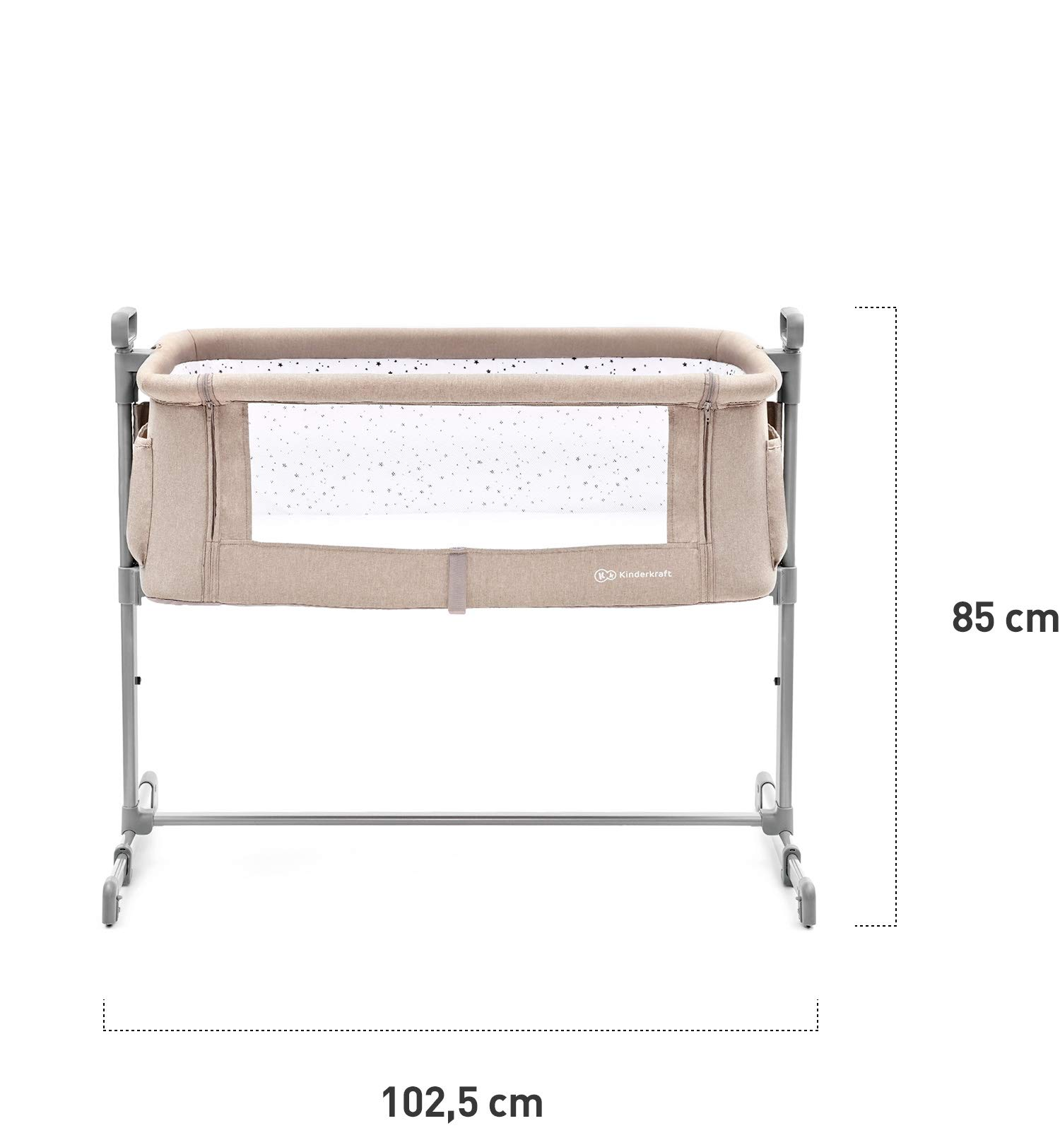 Kinderkraft Neste 2in1 Cot with Mattress Baby Bed Children Baby Travel Cot kk KinderKraft  6