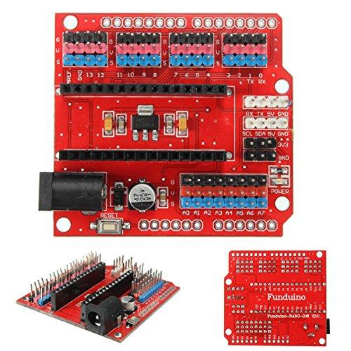 61ifmqDnXyL - WINGONEER® Expansion Prototype Shield Módulo de placa de extensión de E/S para Arduino Nano V3.0