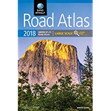 2018 RM LARGE SCALE ROAD ATLAS (Rand McNally Large Scale Road Atlas U. S. A.)
