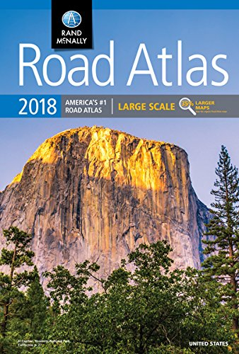 2018 Rand McNally Large Scale Road Atlas: Lsra (Rand McNally Road Atlas) (State Atlas)
