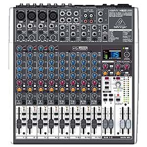 Xenyx X1622USB - Console analogique 16 entrées de la nouvelle série XENYX, égaliseurs britanniques et interface audio USB + effets