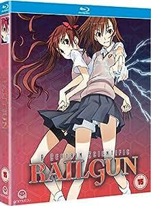 A Certain Scientific Railgun Complete Season 1 Collection (Episodes 1-24) Blu-ray