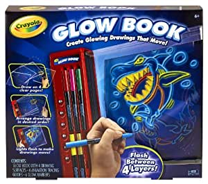 Crayola Colour Explosion Glow Book