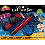 POOF-Slinky - Scientific Explorer Galileo Explorer Set with 40x Microscope, 12x30 Telescope and 4x60 Magnifier, 0SA404BL by Scientific Explorer