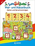 LernSpielZwerge Mal- und Rätselbuch – Zahlen und Sprachvermögen