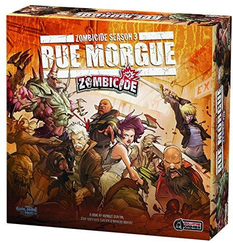 Preisvergleich Produktbild Cool Mini or Not 901433 - Zombicide Season 3 - Rue Morgue, Brettspiel