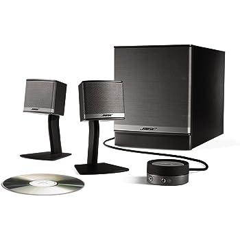 bose companion 3 multimedia lautsprecher system amazon. Black Bedroom Furniture Sets. Home Design Ideas