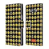 Offizielle Emoji Muster Smileys Brieftasche Handyhülle aus