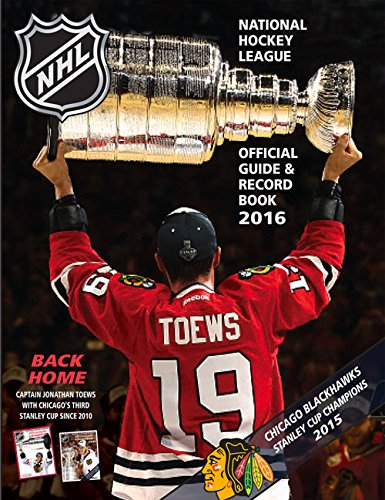 The National Hockey League Official Guide & Record Book 2016