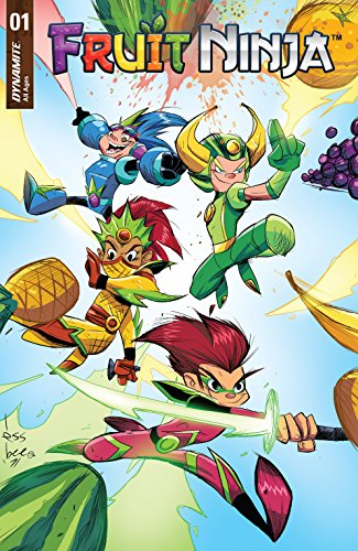 Fruit Ninja #1 (English Edition) eBook: Nate Cosby, Scott ...