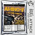 500 TABLETS x BCAA, GLUTAMINE & MACA and B6 - Anabolic Amino Acids PROTEIN PACK from BULL ATTACK