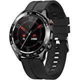 gandley Smart Watch for Men, Bluetooth Smartwatch for Android iOS phones with Blood Pressure Heart Rate Monitor, IP68 Waterpr