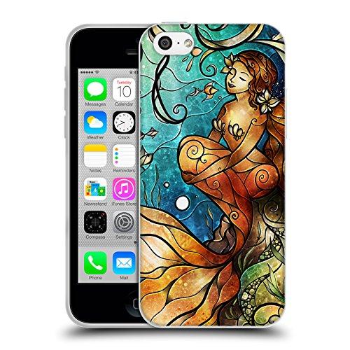 Ufficiale Mandie Manzano Boccioli 2 Sirena Cover Morbida In Gel Per Apple iPhone 6 Plus / 6s Plus Boccioli 2