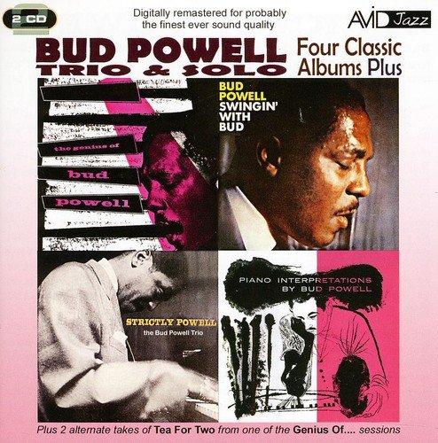 four-classic-albums-plus-strictly-powell-the-genius-of-bud-powell-swingin-with-bud-piano-interpretat