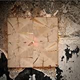 Almleuchten W1 Altholz Wand-/Deckenleuchte mit flächigem Licht / Holz-Wandlampe