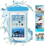 HUMBLE Holi Festival Universal Underwater Waterproof Pouch Bag Pack Case for Mobile Phone