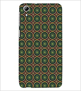 PrintDhaba Pattern D-5357 Back Case Cover for HTC DESIRE 826 (Multi-Coloured)