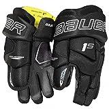 Bauer Supreme 1S Handschuhe Senior, Größe:14 Zoll;Farbe:schwarz