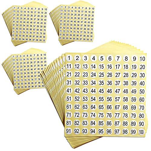 adesivo rotondo 15 mm 360 etichette olografiche con numero di serie