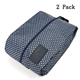 Allbusky Scarpe Borse portatile impermeabile gancio custodia da viaggio Shoe trucco, Beauty case con cerniera Tasca