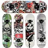 FunTomia® - Skateboard con cuscinetti Mach1® - ruote a profilo...
