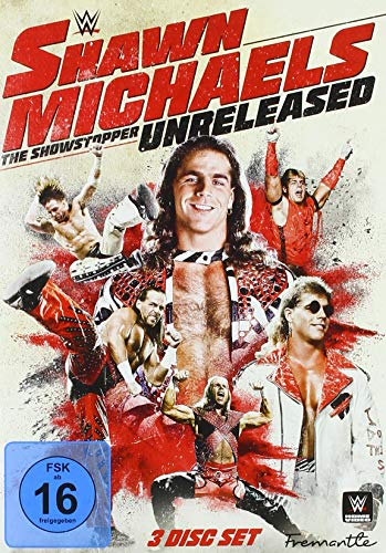 WWE -  Shawn Michaels - The Showstopper Unreleased [3 DVDs]