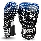 KINGTOP Top King - Guantes de Boxeo para niños, Color Azul y Negro, Large