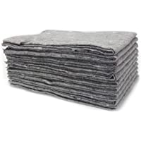 10 Pièces x Couvertures de déménagement de haute qualité - 130x190cm, Fabriqué en Allemagne Couvertures Meubles Couvertures en Matériau Recyclé Couverture pour transport