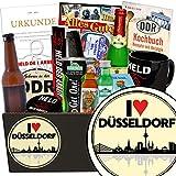 I love Düsseldorf | Mann Geschenkset | Geschenk Idee | I love Düsseldorf | Männer Box | Düsseldorf Geburtstagsüberraschung | INKL DDR Kochbuch