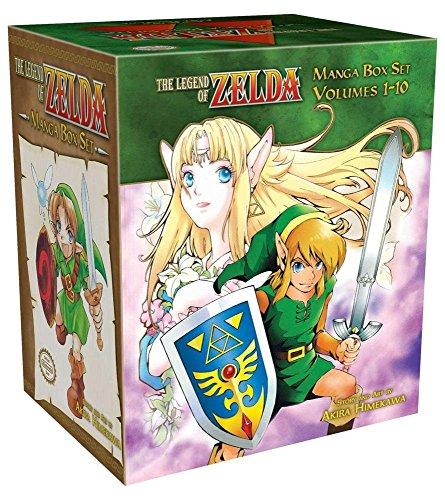 LEGEND OF ZELDA BOX SET (The Legend of Zelda) por Akira Himekawa
