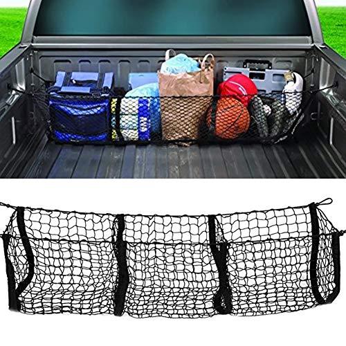 Hete-supply Auto Boot ordentlich Net, Kofferraumnetz Tasche DREI Gitter Gepäck dreidimensionale Netz Tasche Kofferraum Organizer Tasche große Kapazität Net Pack -