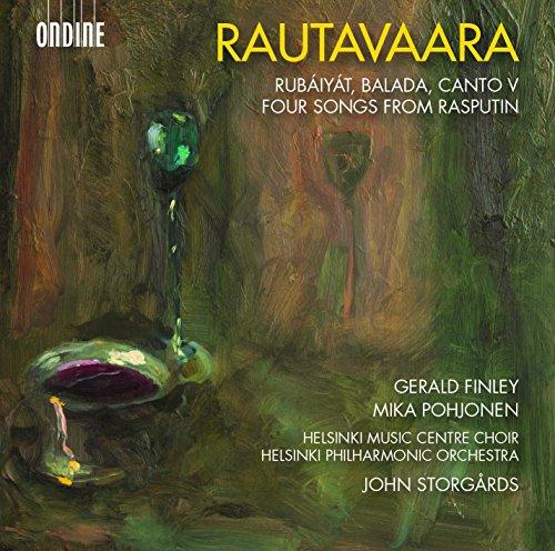 Rubáiyát pour baryton et orchestre - Into the Heart of Light (Canto V) pour orchestre à cordes - Balada pour ténor, choeur mixte et orchestre - Quatre chants de l'opéra Raspoutine