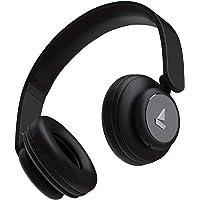 boAt Rockerz 450 Bluetooth On-Ear Headphone with Mic(Luscious Black)