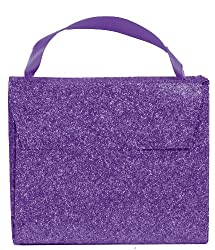 The Gift Wrap Company 12 Count Candy Purses, Glitter Amethyst