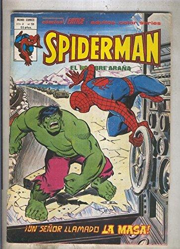 Spiderman volumen 3 numero 59 (numerado 1 en trasera)