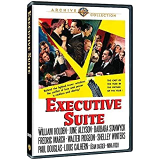 Executive Suite 1953 (region 2) William Holden Barbara Stanwyck by William Holden